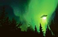 Над Италией пронесся зеленый НЛО