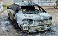 В Харькове сожгли авто известного активиста