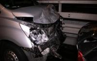 В Киеве во время оформления ДТП произошла авария
