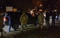 Спецназ задержал кортеж джипов в Днепре