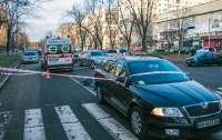 ДТП в Киеве: авто на