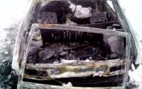 В Житомирской области мужчина сгорел в собственной машине