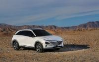 Hyundai презентовала свой новый водородный кроссовер Nexo