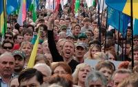 Большинство украинцев считают неправильным выбранный страной курс
