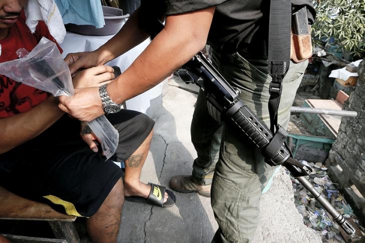 НаФилиппинах милиция заодин день убила 32 наркоторговца