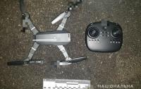 В Киеве мужчина с помощью дрона пытался передать в СИЗО наркотики