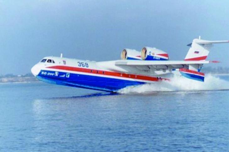 на самолет-амфибию Бе-200