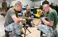 Украинские десантники участвуют в военных учениях в Германии