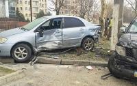 Патрульные Одессы попали в массовое ДТП
