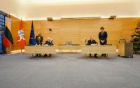 Россия и Литва подписали документы о демаркации границы