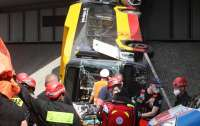 Страшное ДТП с автобусом произошло в Варшаве