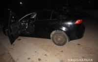 На Киевщине оригинальным способом похитили Mitsubishi