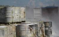 На запорожском заводе произошла масштабная утечка опасного вещества