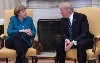 Трамп и Меркель обсудили ситуацию в Украине