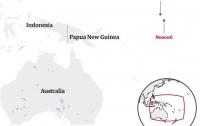 Возле Папуа-Новой Гвинеи пропал паром с 50 пассажирами