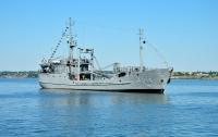 Украинский корабль зашел в зону российских военных учений