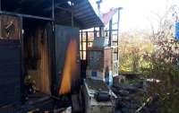 Россиянка хотела согреться и сожгла кухню