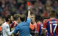 Александр Кучер получил самую быструю красную карточку в Лиге чемпионов
