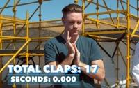 Американец установил мировой рекорд по хлопанью в ладоши (видео)