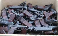 Правоохранители нашли склад с таким количеством оружия, что можно отправляться воевать (видео)