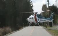 Над Киевом начнут курсировать вертолеты «скорой помощи»