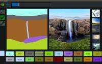 NVIDIA показала ИИ-систему, которая превращает наброски в фотореалистичные изображения