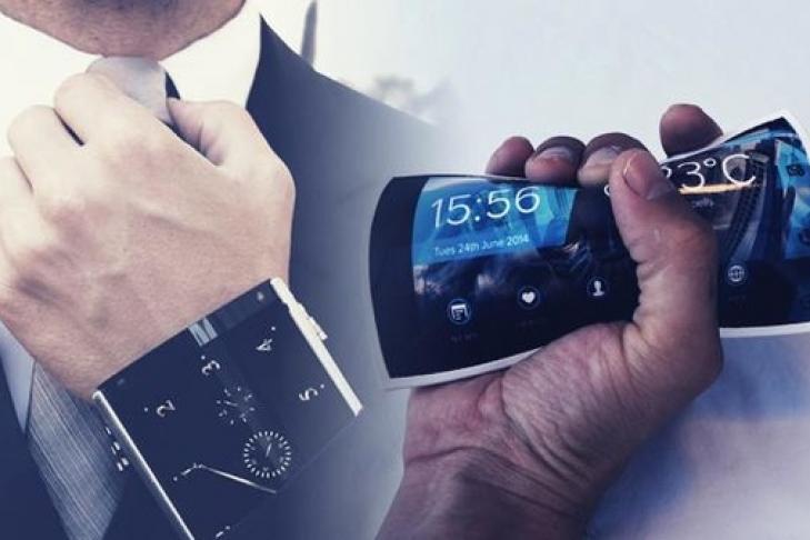 23мая компания Самсунг представит 1-ый вмире растягиваемый дисплей
