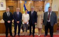 Місія Світового Конгресу Українців зустрілася з ЦВК