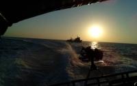В Азовском море начались военные учения