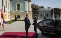 Начались переговоры Порошенко с канцлером Австрии