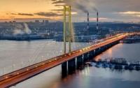 На Южном мосту в Киеве почти на месяц ограничат движение