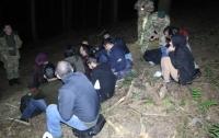 На Львовщине задержали 18 нелегалов. Среди них были женщины и дети