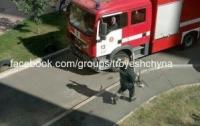 Киевлянин стрелял по прохожим и поджег собственный балкон