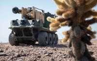 Американские роботы уничтожили российские танки Т-72