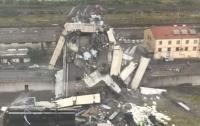 При обвале моста в Генуе пострадали украинцы