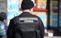 На киевском проспекте нашли противотанковую мину