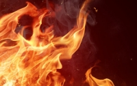 Спасателей не подпустили к горящей новостройке