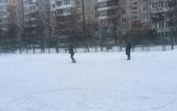 На столичных Березняках открывают бесплатный каток