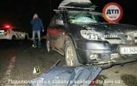 Смертельное ДТП в Киев: Mitsubishi сбил пешехода-нарушителя