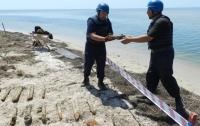 В Черном море начали разминирование затонувшего миноносца