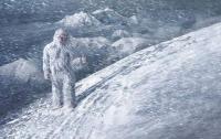 Житель РФ заснял снежного человека (ВИДЕО)