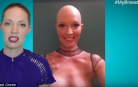 Американская актриса превратила удаление раковой опухоли в шоу