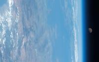 Астронавт NASA сделал снимок Луны из космоса