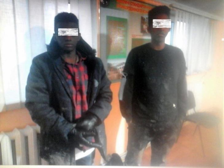 Двум сомалийцам не удалось попасть в Европу, благодаря украинским пограничникам