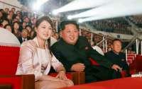 Жена Ким Чен Ына появилась на публике впервые за четыре месяца