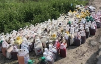 Рассказали подробности отравления воды в речке Рось (фото)