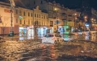 Воды по пояс: Киев снова затопило из-за мощного ливня (видео)