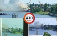 Случился пожар на бывшем предприятии Петра Порошенко