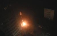 Подробности третьего масштабного пожара в столичной высотке (ФОТО)
