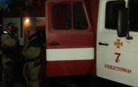 В Киеве во время движения загорелся автомобиль